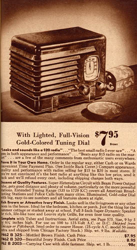 [Montgomery Ward catalog page]