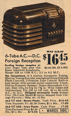 [From a Montgomery Ward catalog]