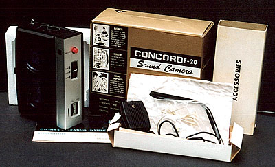 [Concord F-20 with accessories]