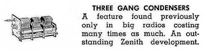 [From the 1942 Zenith brochure]