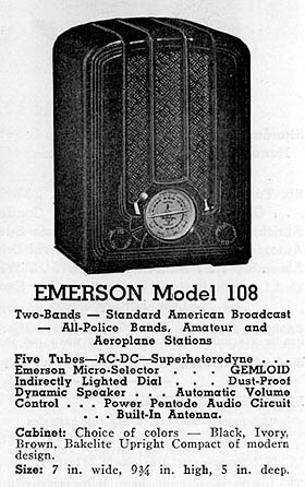 [From an Emerson brochure]