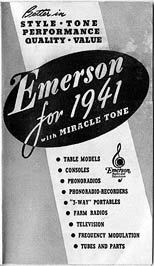 [from a 1941 Emerson sales brochure]