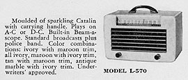 [From a 1942 G-E radios brochure]