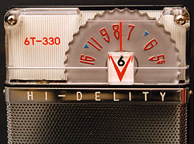 [A closeup of the Hi-Delity's top part]