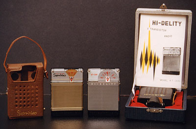 [They each have some accessories.]