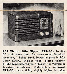 [From a 1940 RCA Victor brochure]