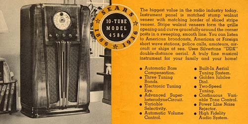 [From a Silvertone radio brochure]