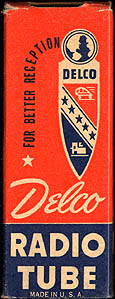 [Delco vacuum tube box]