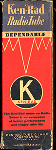 [Ken-Rad vacuum tube box]