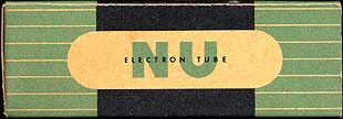 [National Union vacuum tube box]