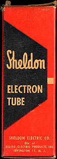 [Sheldon vacuum tube box]