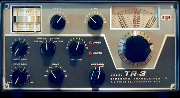 [TR-3 front panel]